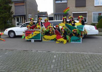 Het carnaval in Kelpen-Oler is in goede handen bij carnavalsvereniging De Kujeldreiers. Wat dat voor iemand is? Zie de link bij Jaarlijkse evenementen. (© www.kujeldreiers.nl)
