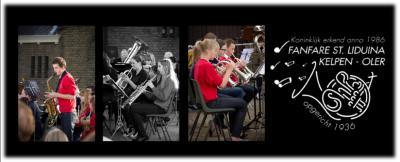 Waar een klein dorp groot in kan zijn: fanfare Sint Liduina uit Kelpen-Oler is opgericht in 1936 en speelt al vele decennia op topniveau. Er is ook een jeugdorkest waarbij de jeugd wordt klaargestoomd voor 'het grote orkest'. (© www.fanfaresintliduina.nl)
