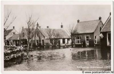 Kerkwerve watersnood 1953