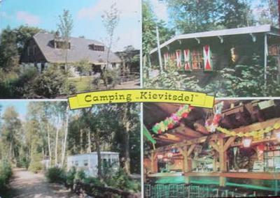 Ansichtkaart van Camping Kievitsdel