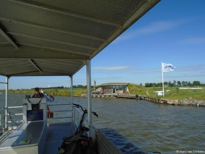 Buurtschap Kingmatille, Fietspont Keimpetille met zicht op het schippersonderkomen.