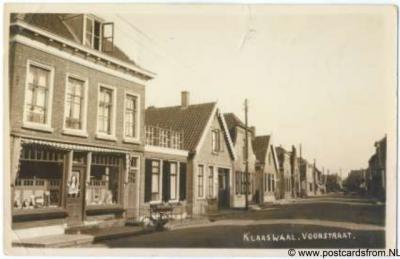 Klaaswaal Voorstraat 1948