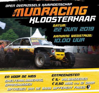 Op een zondag in juni is er in Kloosterhaar het jaarlljkse Open Overijssels Kampioenschap Mudracing. Wat dat inhoudt kun je aan de foto al zien. :-)