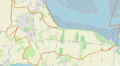 Kloosterzande is een voor Zeeuws-Vlaamse begrippen groot dorp. Het is een compact dorp met daaromheen een groot buitengebied met daarin een 8-tal buurtschappen, waarvan de meeste op deze kaart staan afgebeeld. (© www.openstreetmap.org)