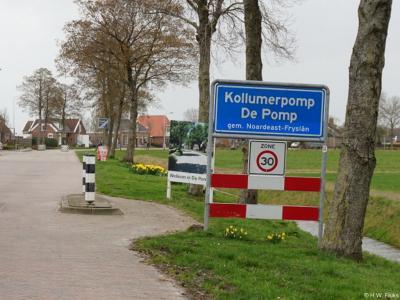 Kollumerpomp is een dorp in de provincie Fryslân, gemeente Noardeast-Fryslân. T/m 2018 gemeente Kollumerland en Nieuwkruisland.