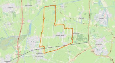 Kollumerzwaag is, zoals de naam al suggereert, een dochternederzetting van Kollum, en ligt tussen de dorpen Veenklooster in het O en De Westereen (voorheen Zwaagwesteinde) in het W.
