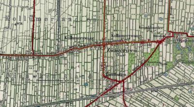 Tot 1971 was er sprake van de dorpen Kollumerzwaag, Zwagerveen (dat ca. de O helft van het huidige dorp Kollumerzwaag vormde, ongeveer vanaf de Koarteloane) en in het Z Zandbulten. In 1971 zijn deze dorpen samengevoegd tot het huidige dorp Kollumerzwaag.