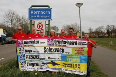 In Kornhorn houden ze wel van een feestje, zelfs zodanig dat ze aan een weekend niet genoeg hebben. In Kornhorn maken ze er gewoon een hele feestwéék van...