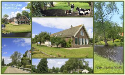 Kortrijk, collage van buurtschapsgezichten (© Jan Dijkstra, Houten)