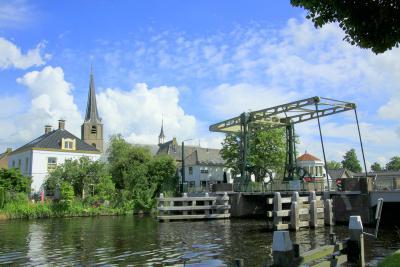 Het dorp Koudekerk aan den Rijn bereikt