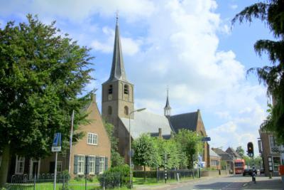 De Dorpsstraat in Koudekerk aan den Rijn
