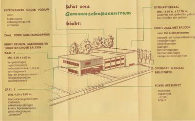 En kennelijk heeft men daar in voldoende mate gehoor aan gegeven, want dit is hem dan geworden: Dorpshuis De Klink te Koudum.