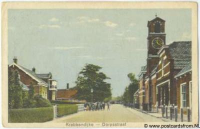 Krabbendijke Dorpsstraat 1929