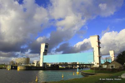 Stormvloedkering bij Krimpen aan den IJssel