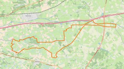 Kring van Dorth is een zeer langgerekte (ca. 10 km) buurtschap, ingeklemd tussen de buitengebieden van Holten, Bathmen en Colmschate in het N, en Laren, Harfsen en Joppe in het Z. (© OpenStreetMap)