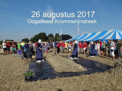 Het Oogstfeest Krommerijnstreek is er een keer in de twee jaar, in de oneven jaren, op een zaterdag eind augustus. Er is dan van alles te zien en te doen rond het thema agrarisch gebruik van het Kromme Rijngebied; vroeger, nu en in de nabije toekomst.