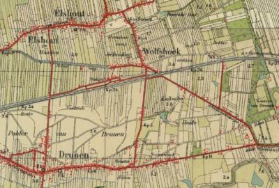Volgens oudere kaarten omvatte de Kuikse Heide oorspronkelijk het hele gebied O van de Lipsstraat. Dit gebied wordt tegenwoordig grotendeels in beslag genomen door bedrijventerrein Groeneweg. De buurtschap ligt nu alleen nog in het O van dit gebied.