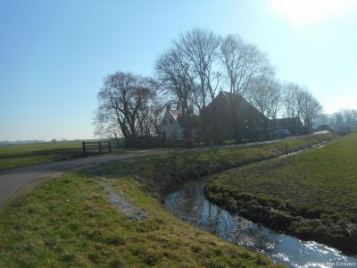 Buurtschap Laad en Zaad, buurtschapsgezicht in het Wolsumer deel (Laad).