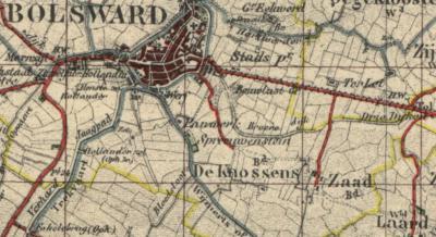Laad en Zaad zijn oorspronkelijk twee aparte buurtschappen, met in de loop der jaren diverse spellingen. Zaad onder de gemeente Bolsward en Laad onder de gemeente Wymbritsteradiel. Tegenwoordig wordt het als één buurtschap beschouwd.