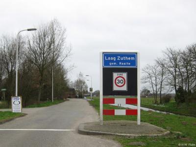 Laag-Zuthem is een dorp in de provincie Overijssel, in de streek Salland, gemeente Raalte. T/m 31-7-1967 gemeente Zwollerkerspel. Per 1-8-1967 over naar gemeente Heino, in 2001 over naar gemeente Raalte.