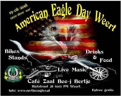 De American Eagle Day Weert (op een zondag in augustus) in het Weerter dorp Laar is een Amerikaanse dag met bikes, stands, live music, drinks en food, georganiseerd door Motorvereniging The Eagles. Toegang gratis.