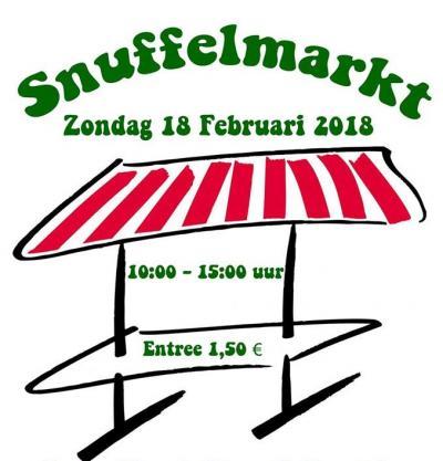 Sneupers kunnen hun hart ophalen op de jaarlijkse snuffelmarkt in Laar, op een zondag in februari