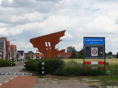 Lamswaarde is een dorp in de provincie Zeeland, in de streek Zeeuws-Vlaanderen, gemeente Hulst. T/m 2002 gemeente Hontenisse.