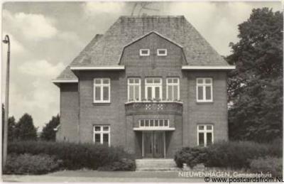 Landgraaf Nieuwenhagen voormalig gemeentehuis.