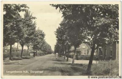 Langenboom Dorpsstraat 1939