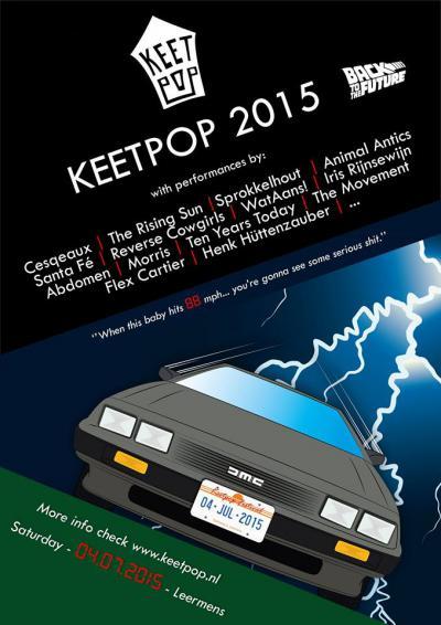 Volgens een verslag van Nieuwsblad van het Noorden gaan bezoekers én artiesten altijd uit hun dak bij Keetpop, het popfestival van Leermens met ca. 15 bands op een zaterdag begin juli.