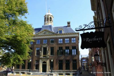 Leeuwarden, het Oude Stadhuis op het Hofplein