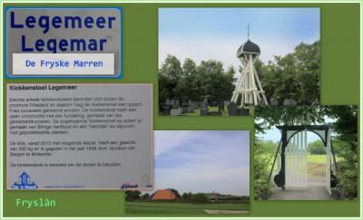 De fraaie klokkenstoel op de begraafplaats is het enige rijksmonument van Legemeer