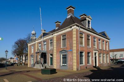 Lemmer, Museum Lemster Fiifgea, gevestigd in het monumentale voormalige gemeentehuis van Lemsterland