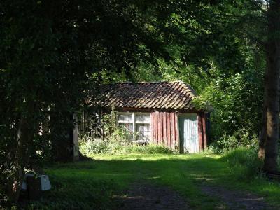 Zeer eenvoudig huisje in Lettelbert (© Harry Perton/https://groninganus.wordpress.com)
