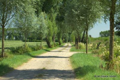 Het is heerlijk wandelen door natuurgebied Scharperswijk, zowel over de graskaden als met het knisperende grind onder je voeten van de ouderwetse grindweg. Heb je zin in deze wandeling? Hij begint bij het gemaal.