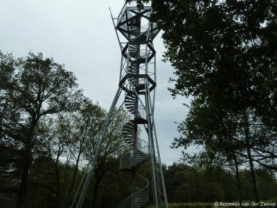 Na de restauratie van de Engelse Schans in Lievelde in 2002 bedacht men dat de schans pas echt goed te bekijken zou zijn vanaf een uitkijktoren. Zo gezegd, zo gedaan. De fraaie, 20 meter hoge uitkijktoren is in 2010 gereedgekomen.