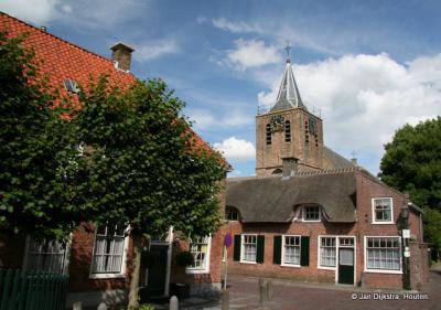 Het dorp Linschoten heeft een prachtige oude kern