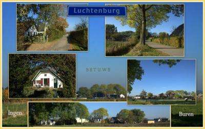 Luchtenburg, collage buurtschapsgezichten (© Jan Dijkstra, Houten)