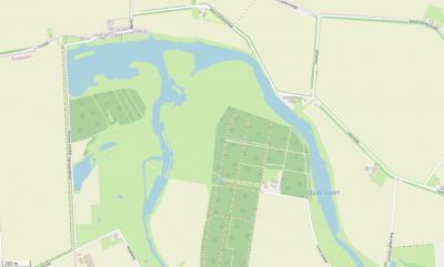 Buurtschap Luntershoek ligt Z van Vogelwaarde, in het uiterste NW van het stadsgebied van Hulst, aan de noordrand van de Oude Vaart en natuurgebied het Groot Eiland. (© www.openstreetmap.org)