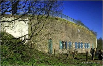 Fort Maarsseveen van nabij gezien