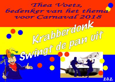 In Maaskantje swingen ze door het jaar heen regelmatig de pan uit; dankzij Muziekvereniging Wilhelmina, én natuurlijk ook dankzij het carnaval!