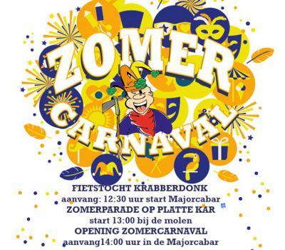 In Krabberdonk (de carnavalsnaam van tweelingdorp Maaskantje / Den Dungen) hebben ze aan het gebruikelijke carnaval in de winter niet genoeg, en doen ze het op een zaterdag in juni nog eens over met het Zomercarnaval.
