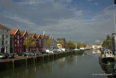 De Binnenhaven in Maassluis.