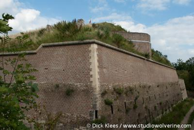 Fort Sint Pieter, in oude glorie gerestaureerd.