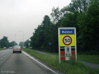 Malden is een dorp in de provincie Gelderland, in de streek Rijk van Nijmegen, gemeente Heumen.