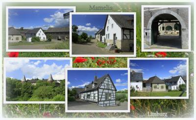 Mamelis, collage van buurtschapsgezichten (© Jan Dijkstra, Houten)