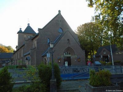 Maiënheem, de rijksmonumentale RK kerk O.L. Vrouwe Hemelvaart
