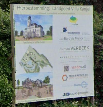 Villa La Petite Suisse in buurtschap Mariënwaard bij Maastricht is sinds 2019 in herbestemming tot familiehotel Villa Kanjel.