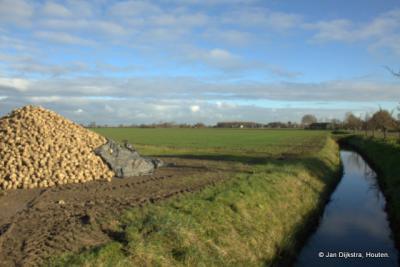 Voor de rest is het allemaal landbouw wat je ziet langs de weg Mark bij Meteren.