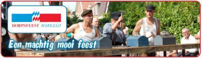 Het Dorpsfeest Markelo (eind augustus) is een machtig mooi feest!